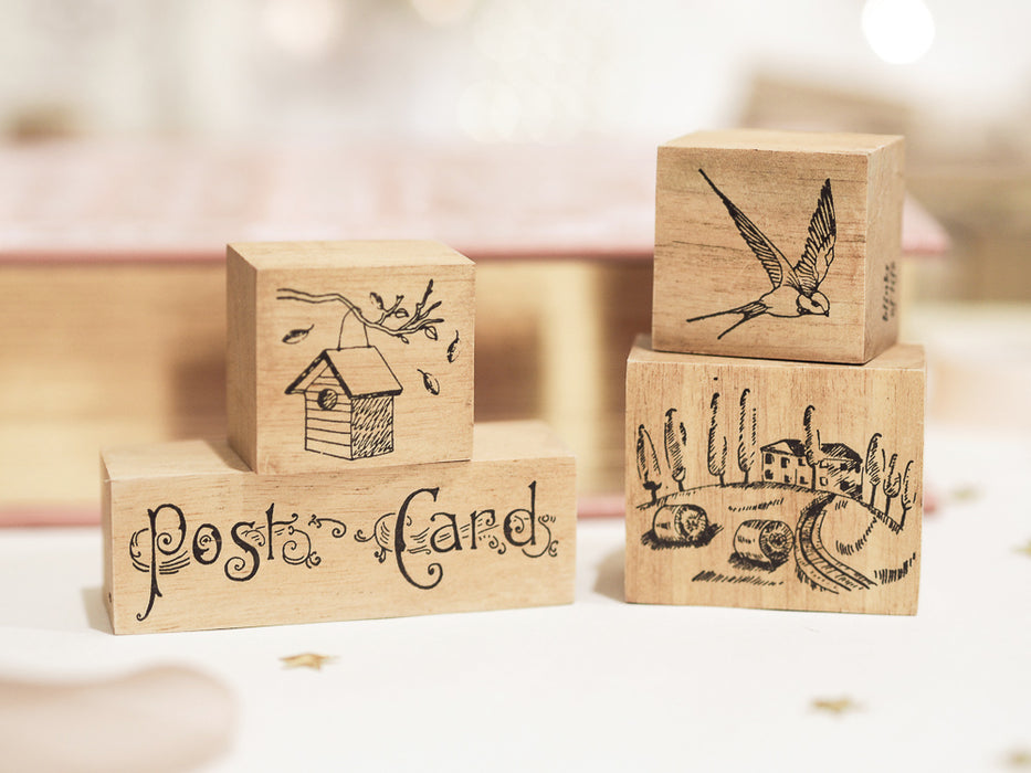 Blinks of Life - Jane Austen Collection - Vintage Birdhouse Stamp