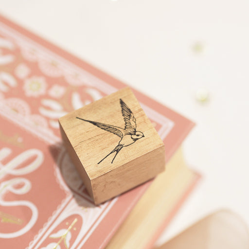 Blinks of Life - Jane Austen Collection - Vintage Bird Stamp
