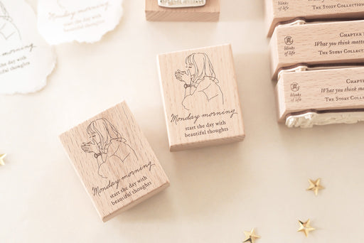 Blinks of Life - The Story Collection - Monday Morning Rubber Stamp
