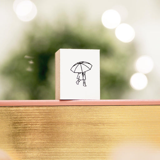 Blinks of Life - Rainy Day - Journal Stamp
