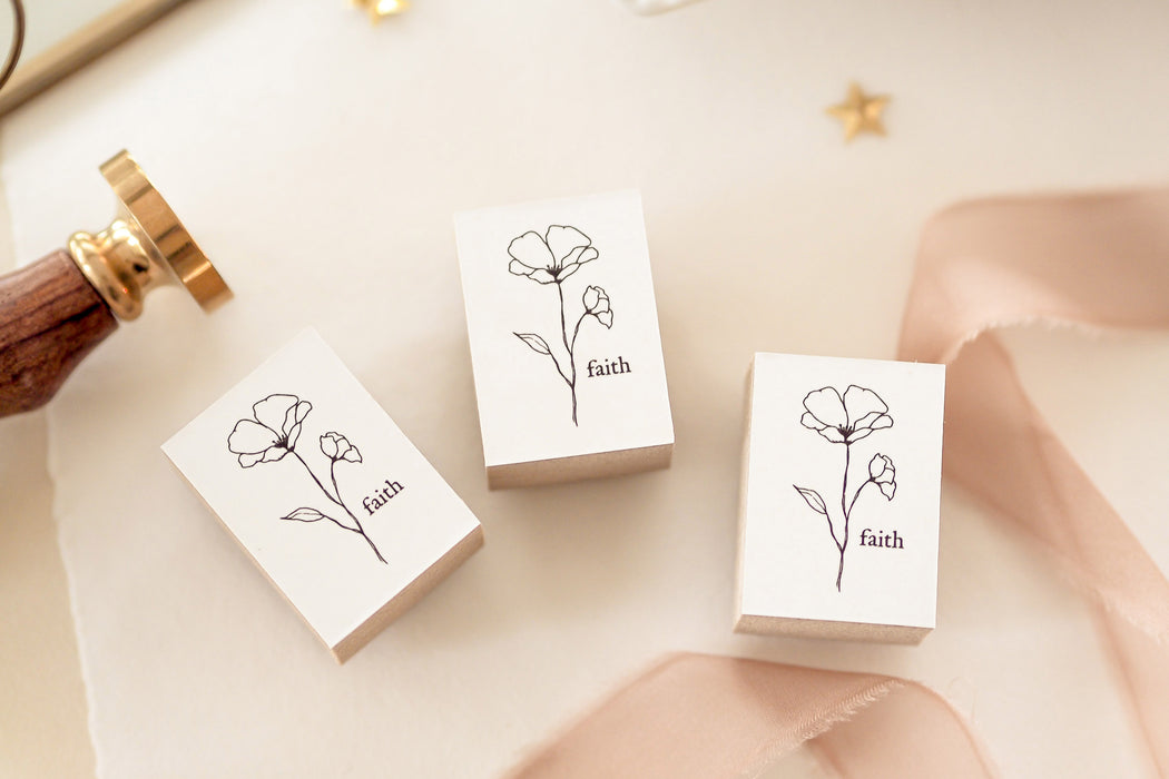 Blinks of Life - Le Jardin Botanical Stamp Collection - Faith