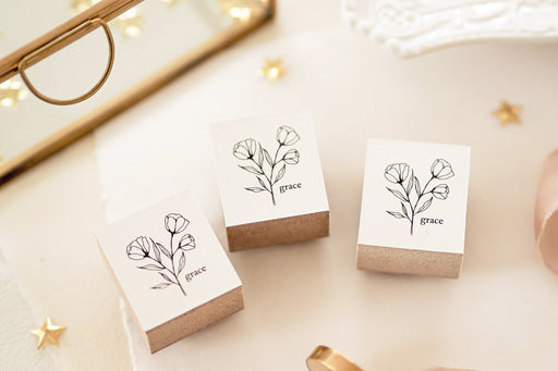 Blinks of Life - Le Jardin Botanical Stamp Collection - Grace