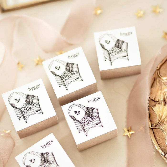 Blinks of Life - Hygge Rubbe Stamp