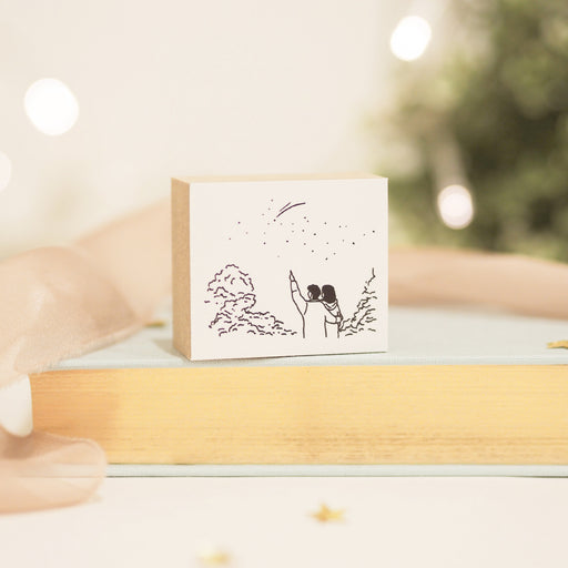 Blinks of Life - Make a Wish - Illustration Rubber Stamp