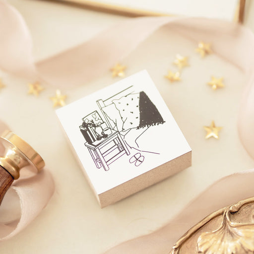 Blinks of Life - Cozy at Home Rubber Stamp
