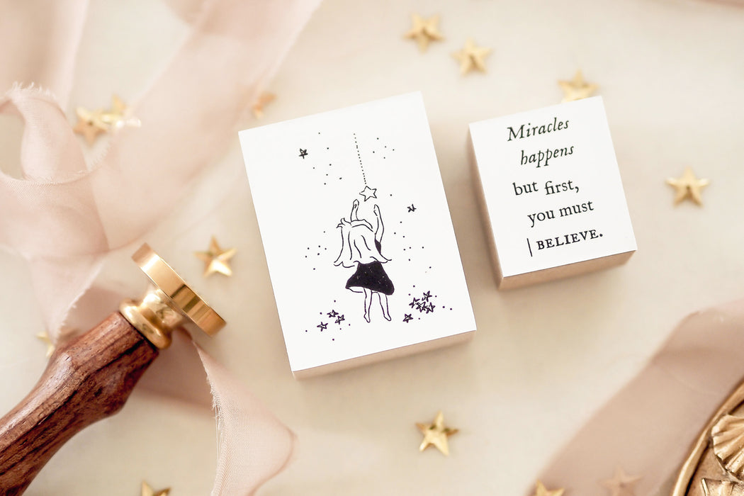 Blinks of Life - Miracles Rubber Stamp