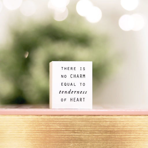 Blinks of Life - Journal Quote Stamps - Tenderness of Heart