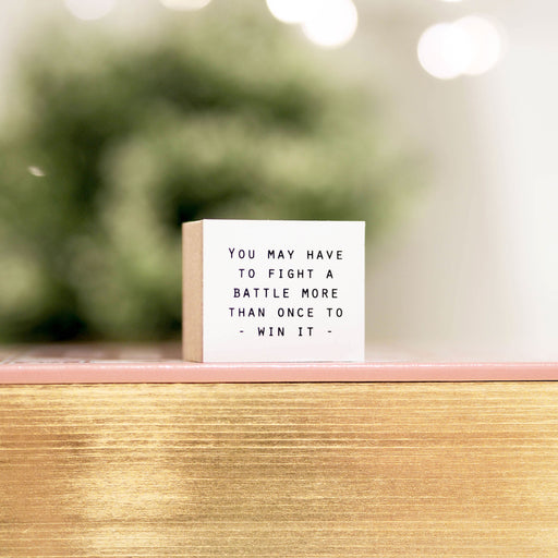 Blinks of Life - Journal Quote Stamps - To Win