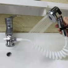 Load image into Gallery viewer, Bathroom Sink Faucet Sprayer Set