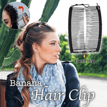 Load image into Gallery viewer, Banana Hair Clip