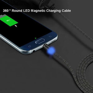 Spartan Magnetic 360 Degree Rotatable Fast Charging Cable