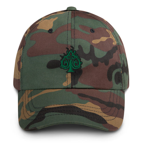 Hustle Dad Hat - Green
