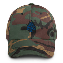 Load image into Gallery viewer, Hustle Dad Hat - ROYAL