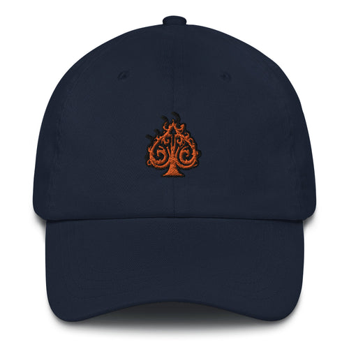 Hustle Dad Hat - ORANGE