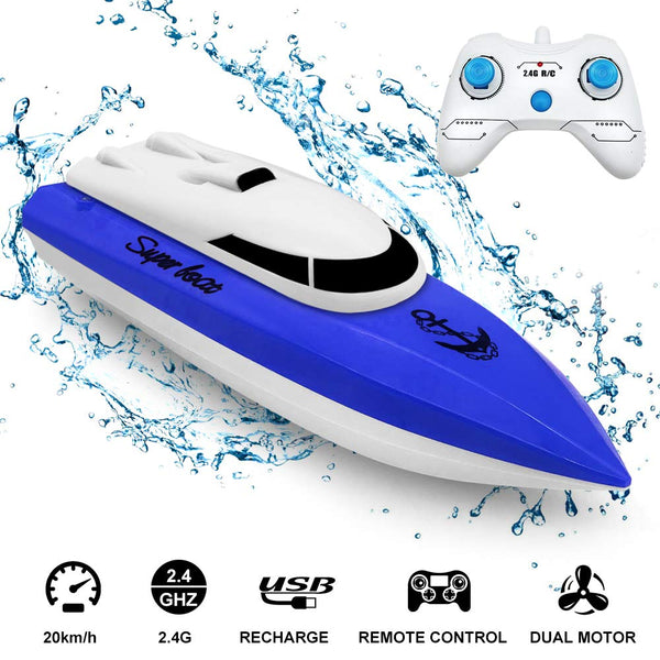 econoLED RC Boat 2.4GHz