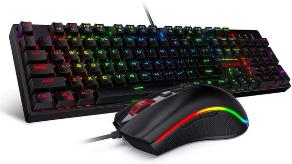 Redragon K582-BA Wired Mechanical Gaming Keyboard & Mouse Combo