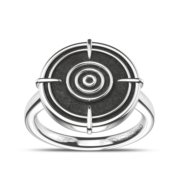 Valentina Shevchenko Small Ring In Sterling Silver