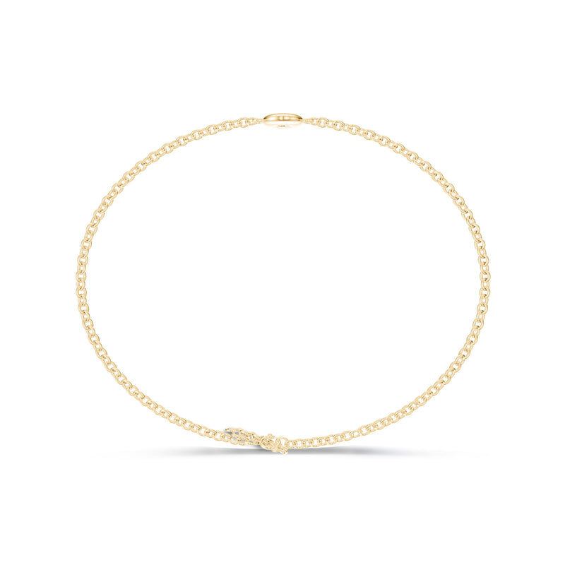 Bixlers Dew Drop Diamond Bezel Bracelet In 14K Yellow Gold