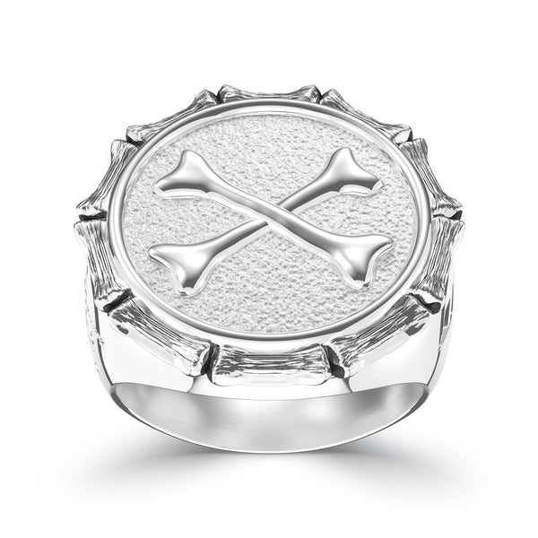 "Jon ""Bones"" Jones Small Ring In Sterling Silver"