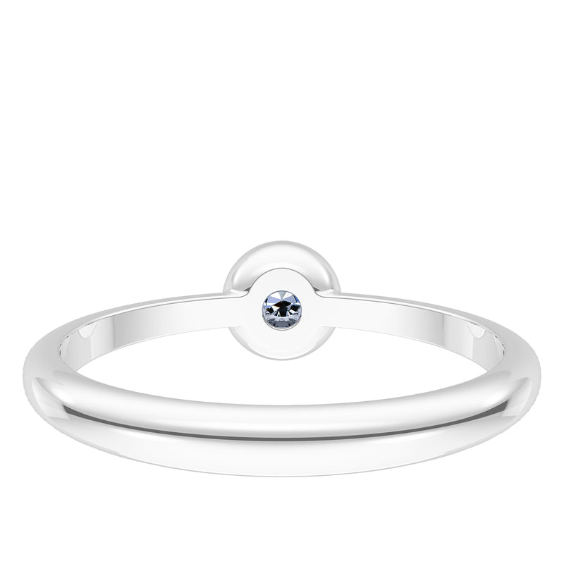 Houston Astros White Sapphire Engraved Ring In Sterling Silver