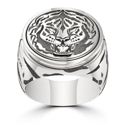 """The Notorious"" Conor Mcgregor Ring In Sterling Silver"