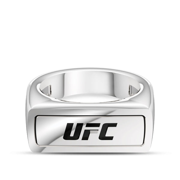 Ufc Classics Ring In Sterling Silver