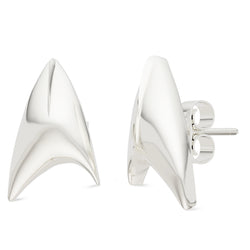 Star Trek Stud Earring In Sterling Silver