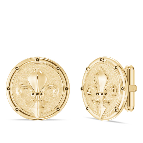 "Daniel ""Dc"" Cormier Cufflink In 14K Yellow Gold"