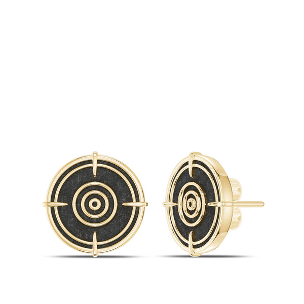 Valentina Shevchenko Stud Earring In 14K Yellow Gold