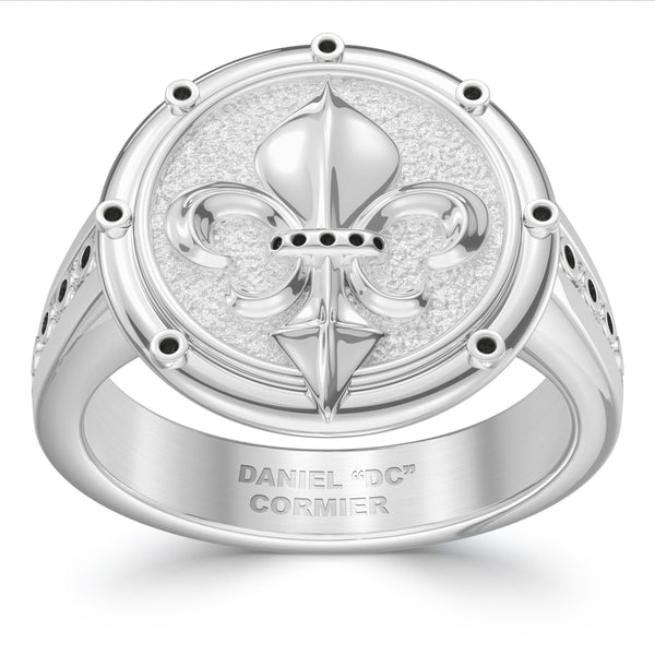 Daniel Cormier Small Ring In Sterling Silver