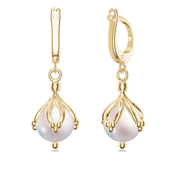 Bixlers 1785 Classics Dangle Earrings In 14k Gold