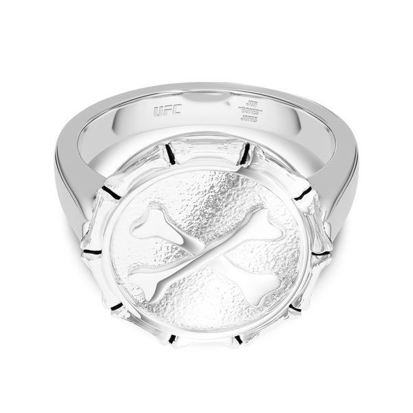 "Jon ""Bones"" Jones Large Ring In Sterling Silver"