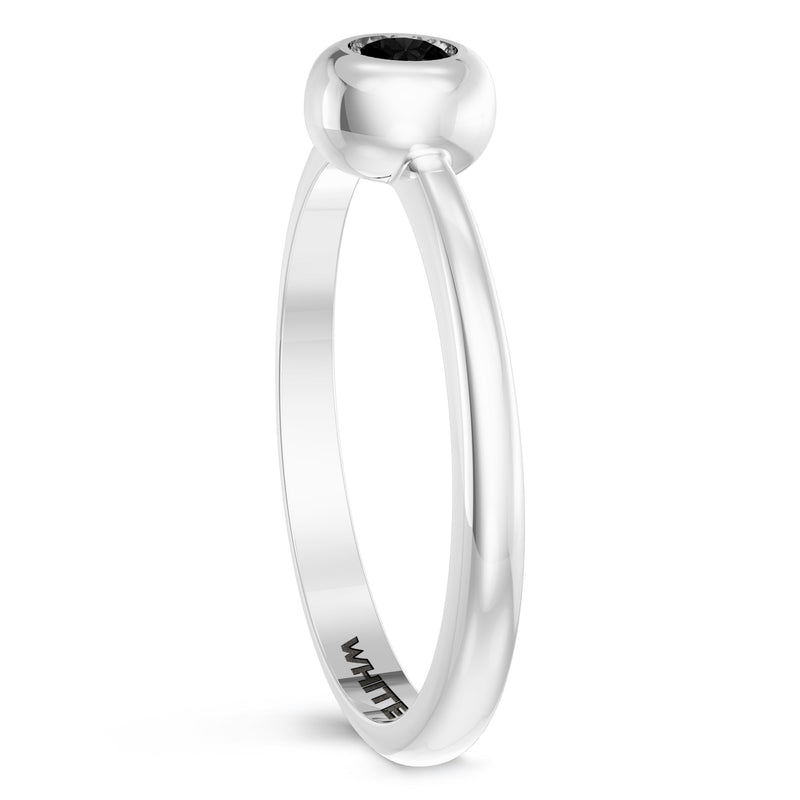 Chicago White Sox Onyx Engraved Ring In Sterling Silver