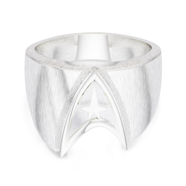 Star Trek Ring In Sterling Silver