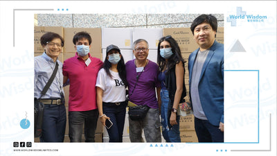 【MOMENTS | free distribution of made in Hong Kong masks 免費派發香港嘅製造口罩】