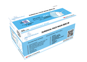 SURGICAL FACE MASKS (INDIVIDUALLY WRAPPED)