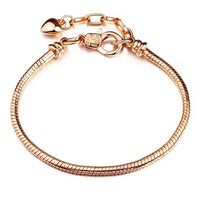 Heart-Chained Bracelet
