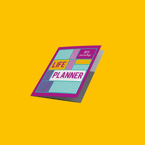 LIFE PLANNER POPS MALAYA + SHIPPING