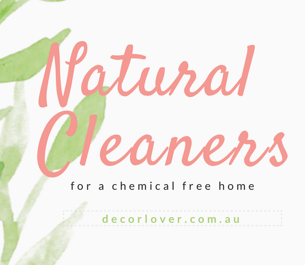 5 all natural cleaning hacks for a sparkling chemical free home.