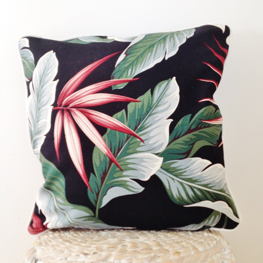 """Midnight Paradise"" Scatter cushion."