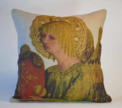 Christmas Angel 3 Pillow P1075