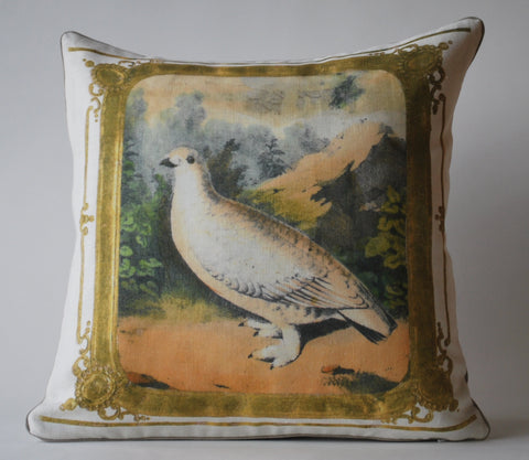 Vintage Dove Pillow P1002