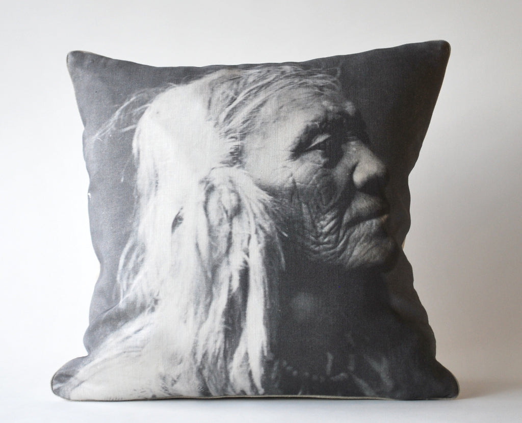 The Elder Native American Pillow P1000