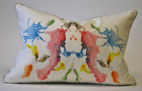 Rorschach Inblot Pillow 10 P1102