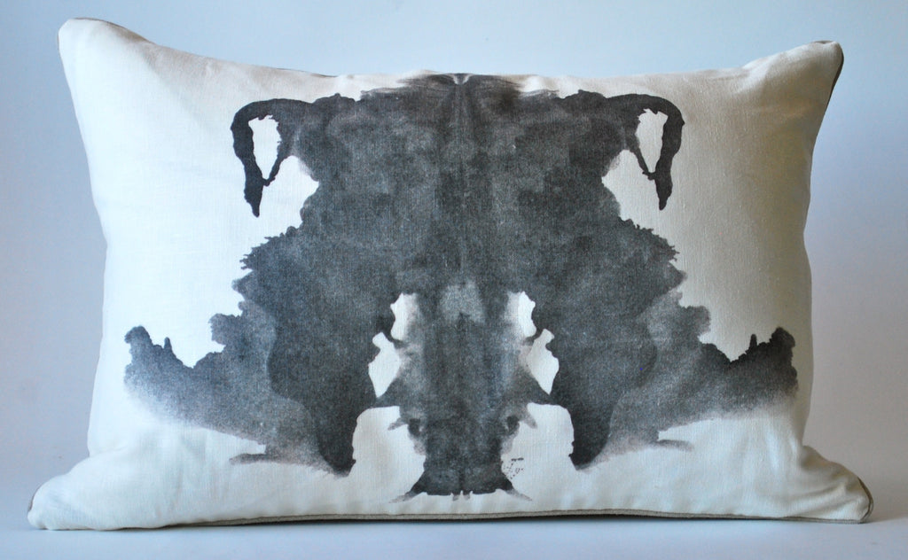 Rorschach Inblot Pillow 4 P1096