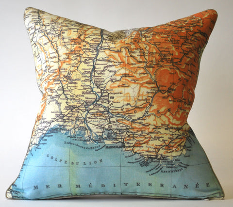 French Mediterranean Pillow P1125