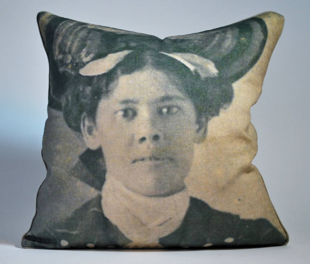 Her Hat Pillow P1135