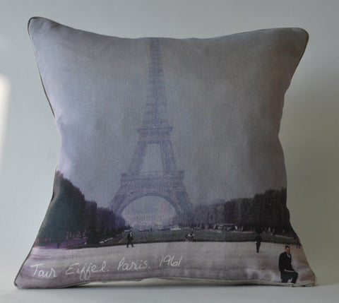 Tour Eiffel Pillow P1082