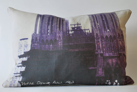 Constructed Notre Dame Pillow P1084
