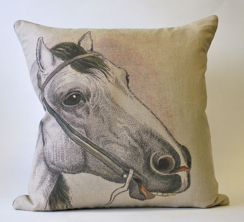 Horse Head Pillow P1106